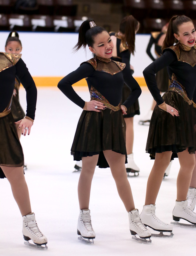 Teams Elite Juvenile Beyonce Theme skating dress nationals 2016