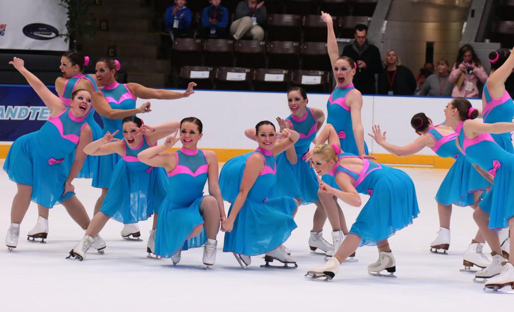 team Delaware Adult Synchronized skating nationals 2016