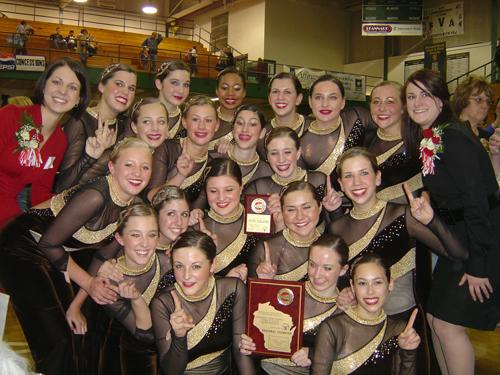 Homestead Dance Team Regionals