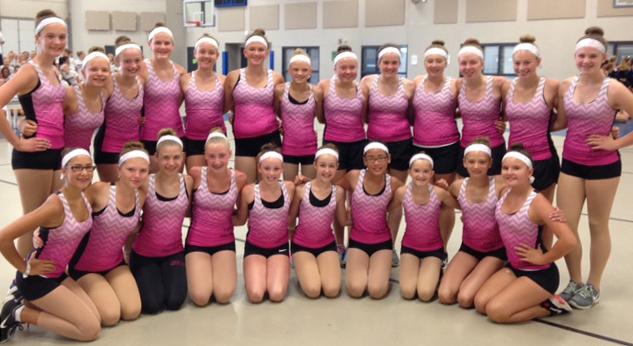 South Metro Dance Academy Custom Pink Tanks