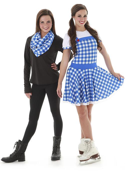 Fond du Lac Blades Pre-Juvenile Dorothy dress with dye sublimation