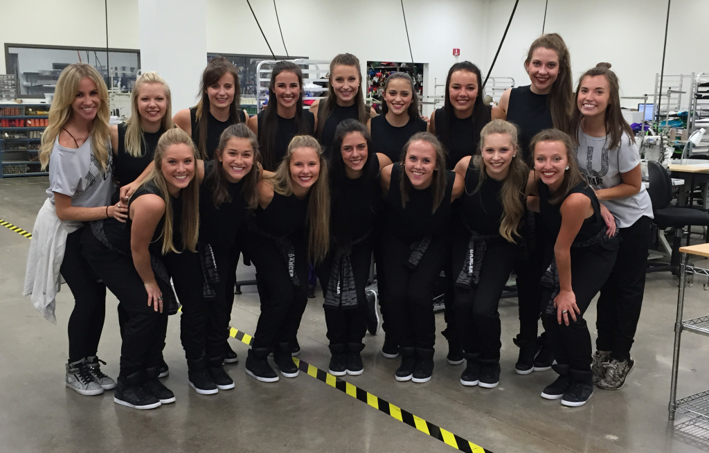 St. Thomas Dance Team 2015, The Line Up behind the scenes of the 25 year anniversary video