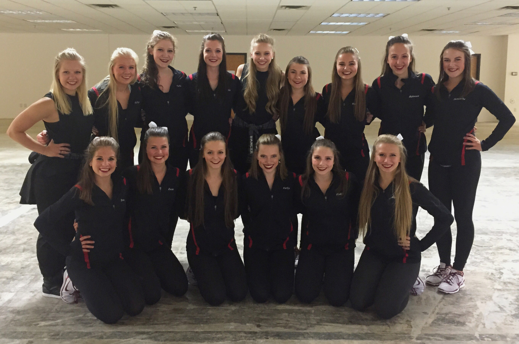 Prescott Dance Team 2015, The Line Up behind the scenes of the 25 year anniversary video
