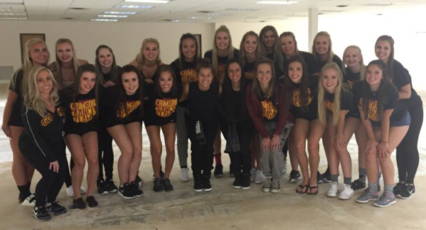 Maple Grove Dance Team 2015, The Line Up behind the scenes of the 25 year anniversary video