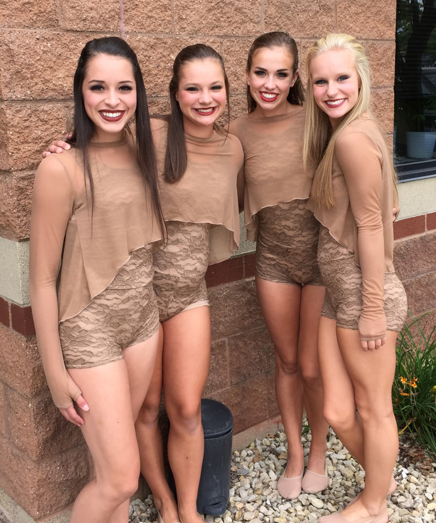 DAC dancers, The Line Up behind the scenes of the 25 year anniversary video