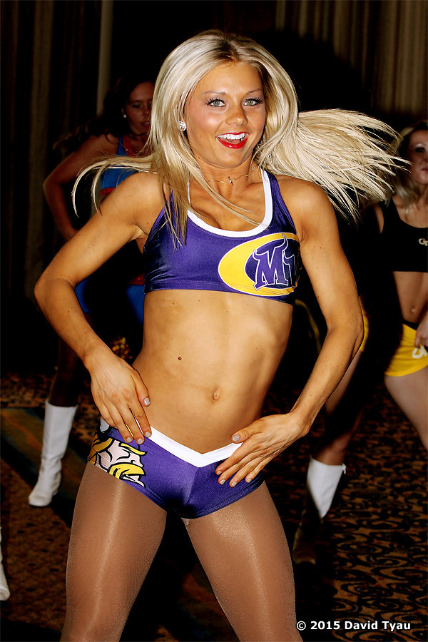 Minnesota Vikings Cheerleaders, All Pro 3,  2015, The Line Up