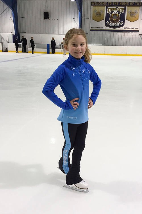 Ice and Blades new warm ups, jacket and leggings, The Line Up