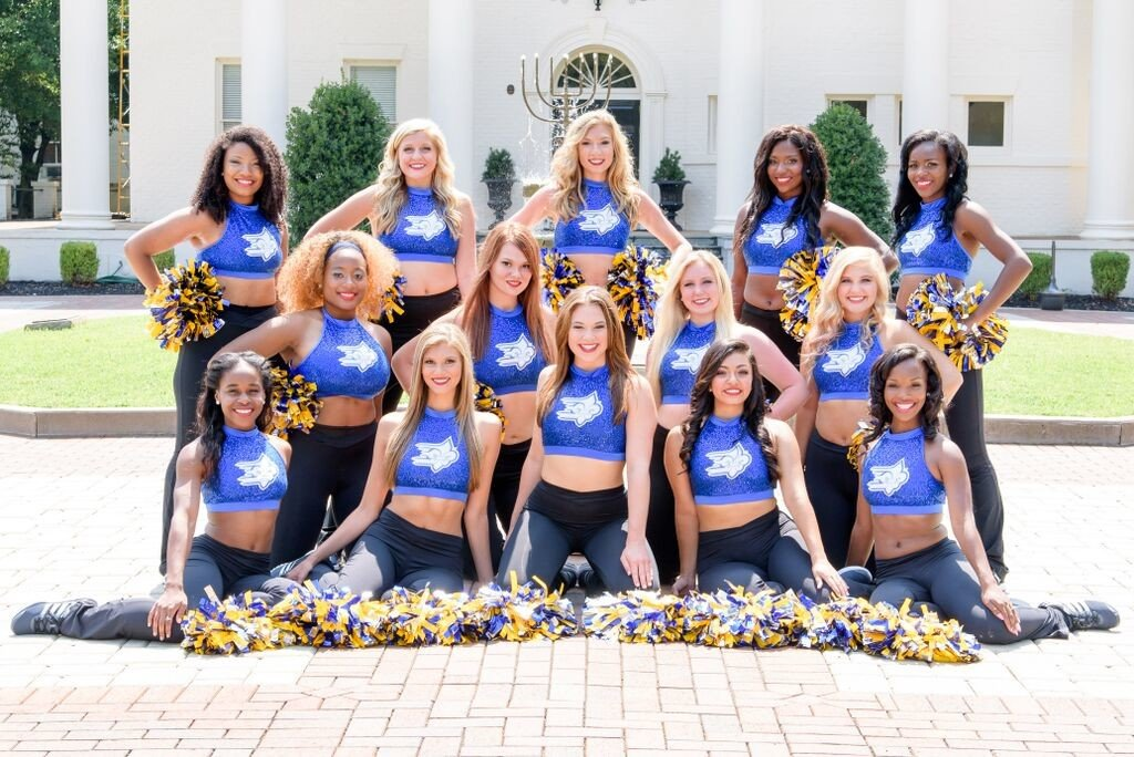 Team spotlight limestone college sparkles on game day for College dance team shirts
