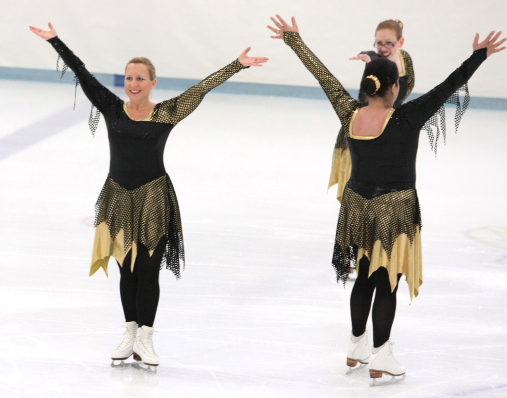 Radiance on Ice Open Masters, shredded edgy skate dress, The Line Up