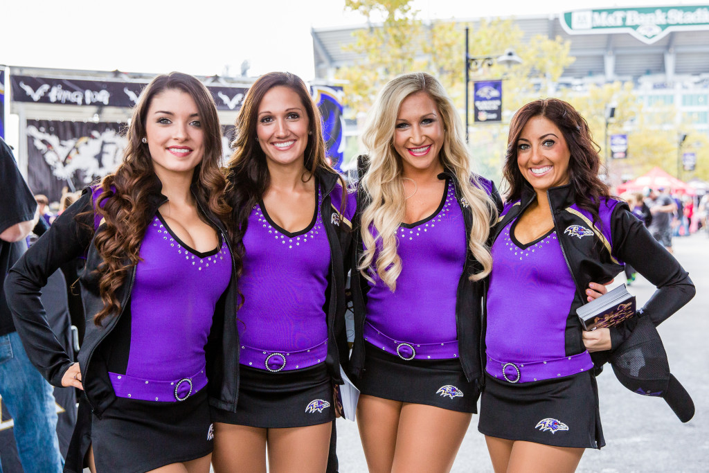Baltimore Ravens Playmakers, uniforms, The Line Up