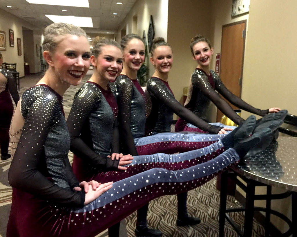 de pere high kick, rhinestone legs and shoulder, gorgeous
