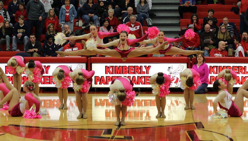 Kimberly dance team, pom, 2016