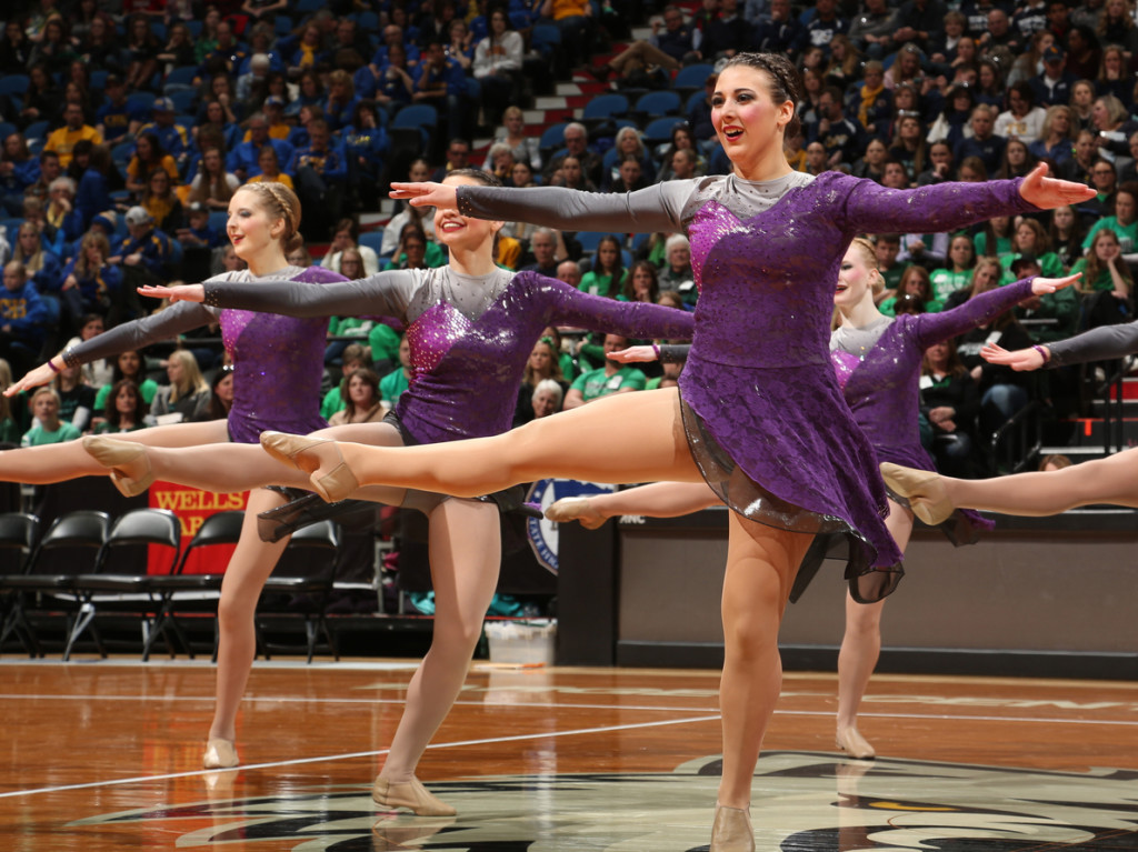 Lakeville North Jazz purple and grey jazz costume 2016, The Line Up