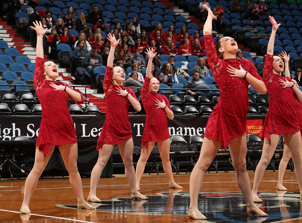 Pelican Rapids red jazz costume 2016, The Line Up
