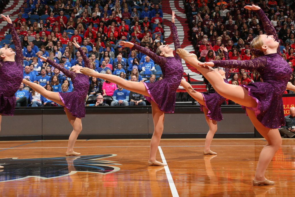 Blaine purple jazz costume 2016, The Line Up