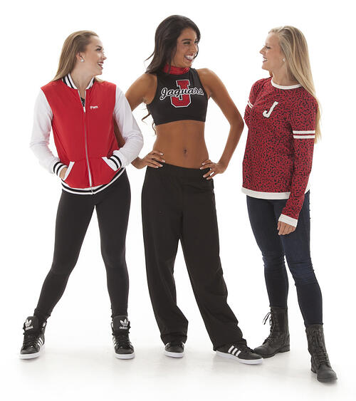 team apparel and camp apparel for dance teams
