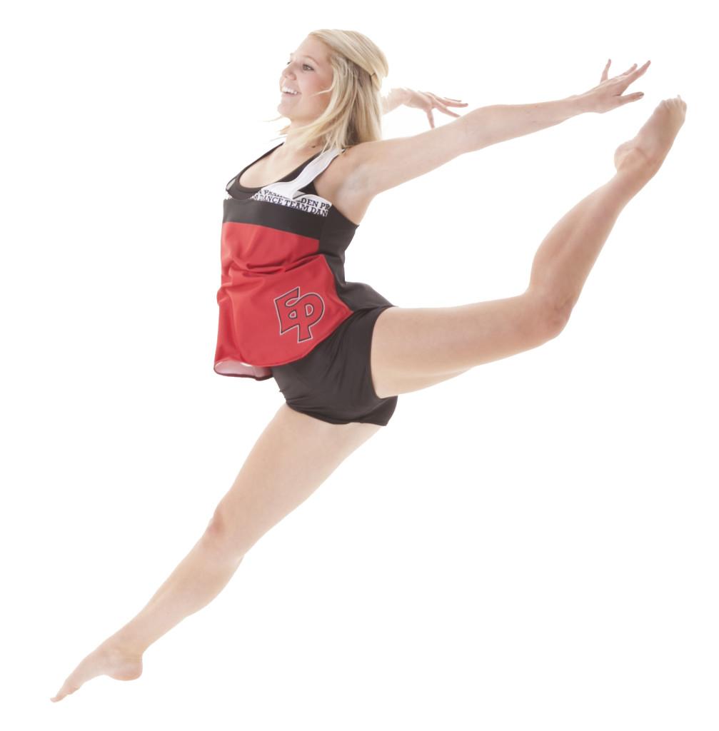 Eden Prairie Dance Team jump