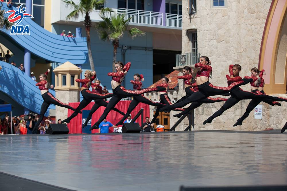 Boston University dance team Nationals Champions