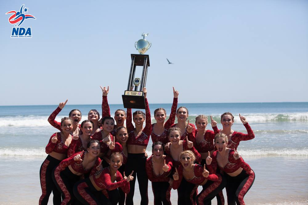 Boston University dance team National Champions 2016 NDA