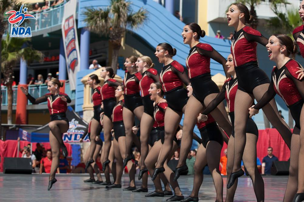 Miami University of Ohio dance team finals 2016 NDA