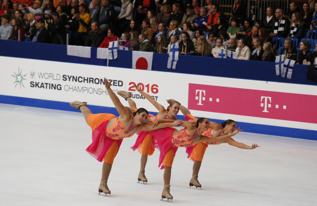 Team Australia synchronized skating team worlds 2016