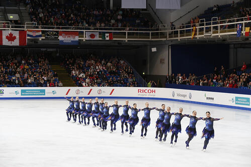 Team Finland 2 ISU synchronized skating worlds 2016