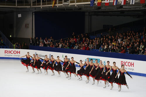 Team Russia 1 ISU worlds synchronized skating