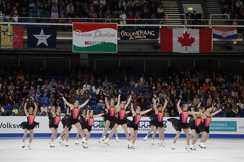 Team USA 1 Haydenettes ISU