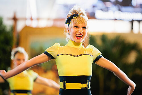 The Line Up - Rock Canyon High School - Yellow Jazz Costume