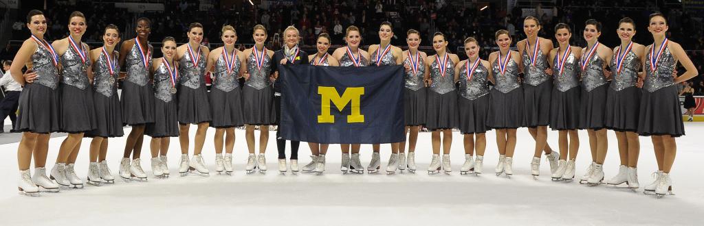 University of Michigan Collegiate, The Line Up, nationals, 2015