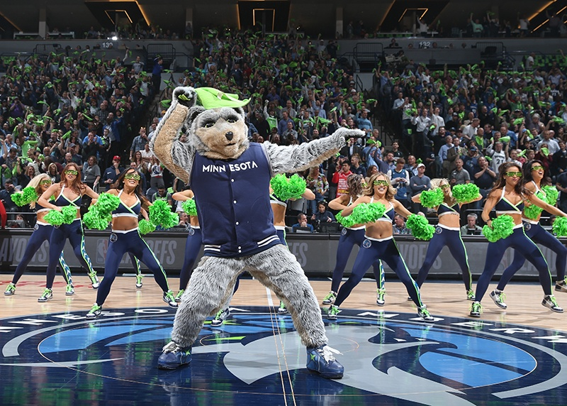 Timberwolves NBA Dancers New Uniforms