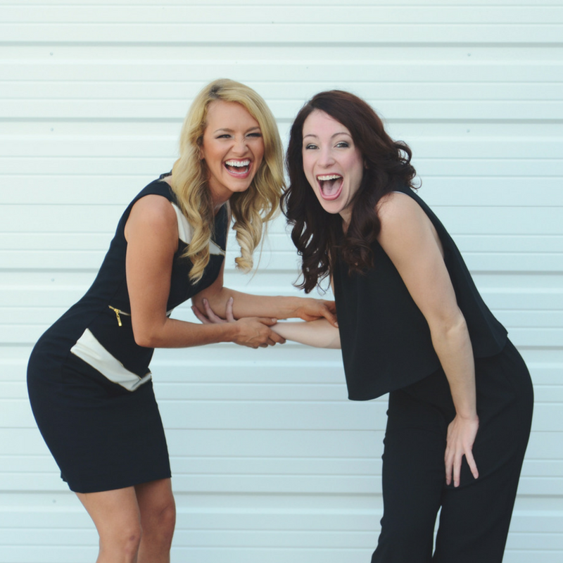 Britt and Jess- the co-founders of ProMotion Dance