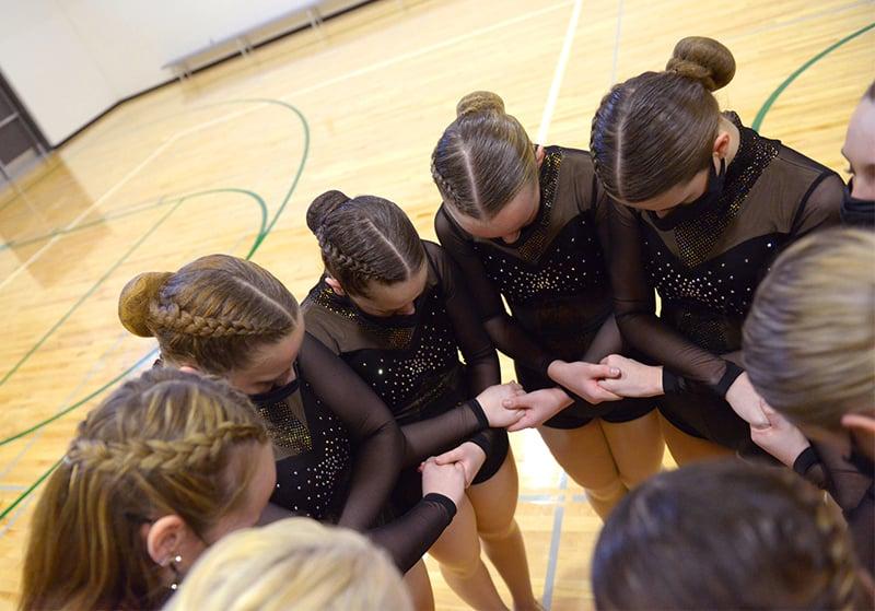 Crosby Ironton High School Dance Team