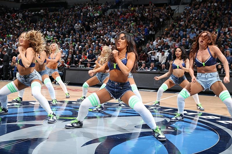 Timberwolves Dancers NBA Uniforms