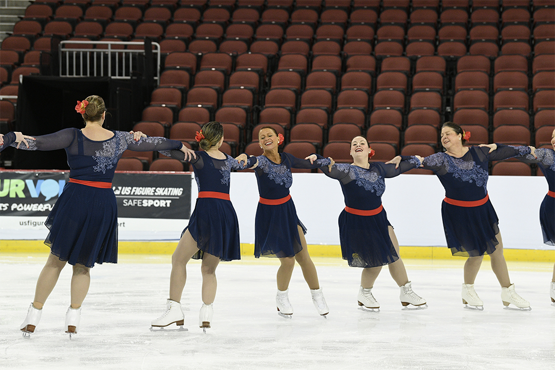 Arctic Edge Unity Adult Synchronized Skating Team