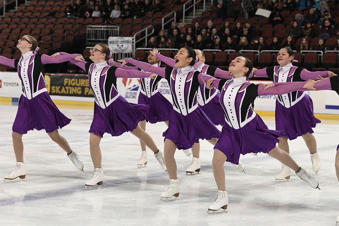 Arctic Edge Unity Synchronized Skating Dresses