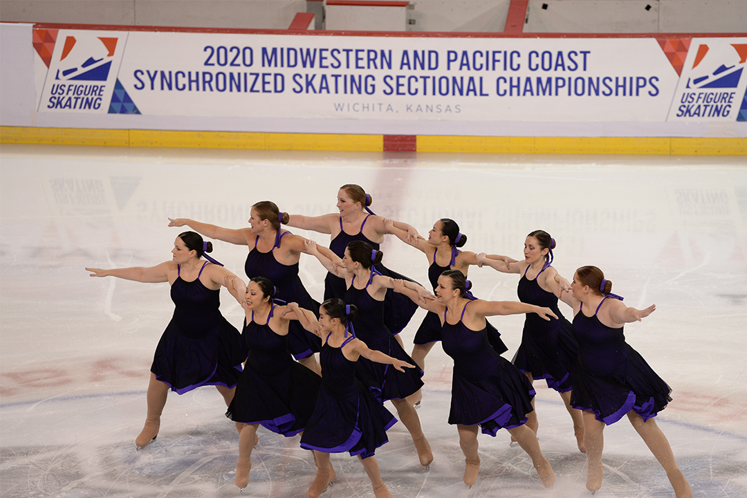 Austintatious Stars Open Adult Synchronized Skating Team