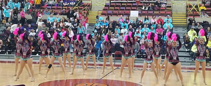 Cambellsport Dance Team WACPC State Competition