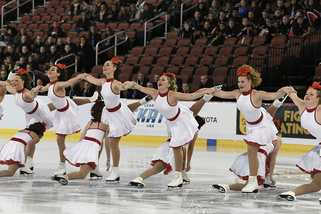 Capital Classics Team Intensity Synchronized Skating Team