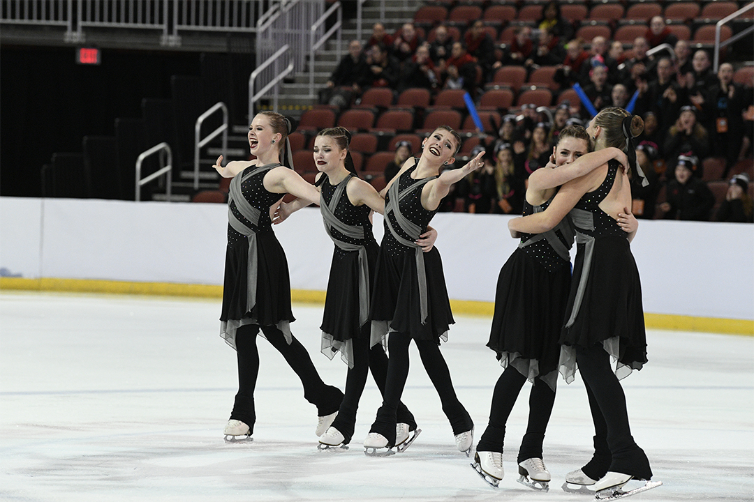 Capital Ice Custom Synchronized Skate Dresses