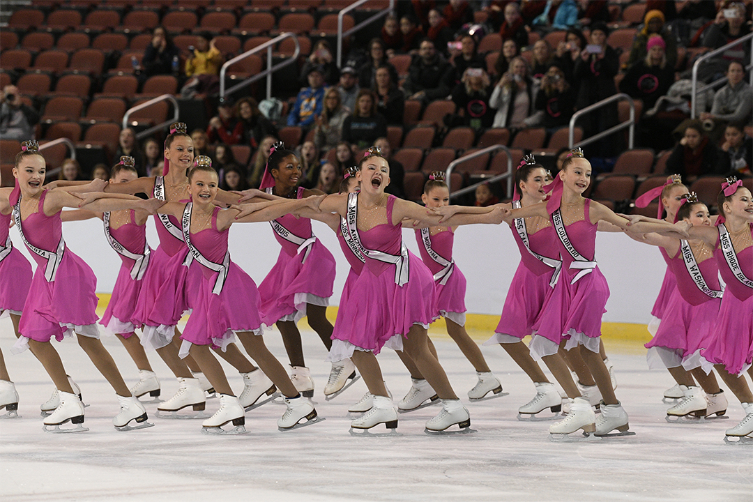 Capital Ice Juvenile Synchronized Skating Team