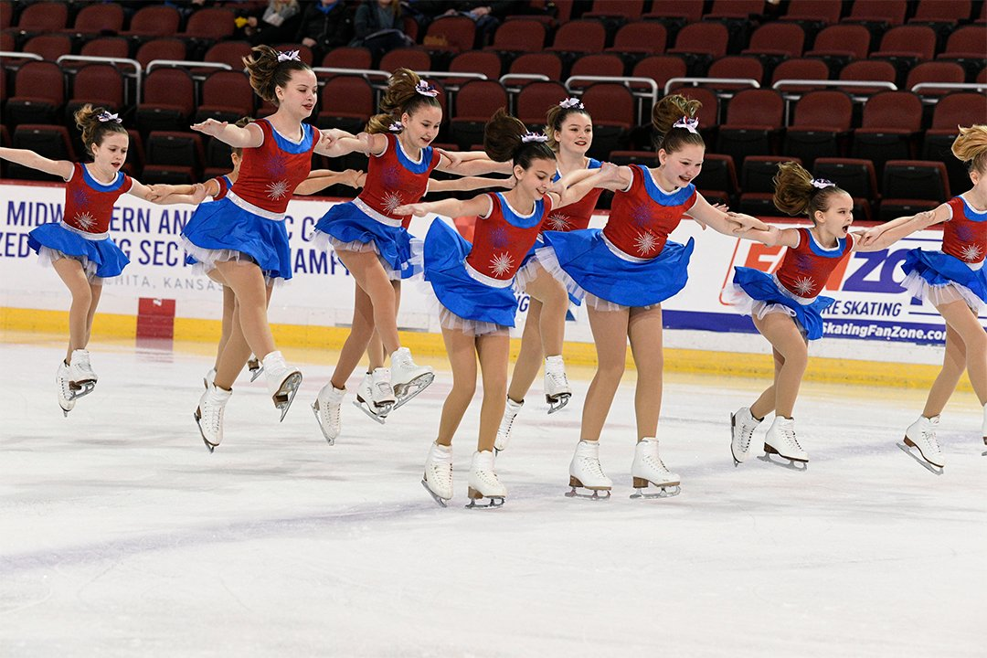 Chicago Radiance Pre-Juvenile Synchronized Skating Team