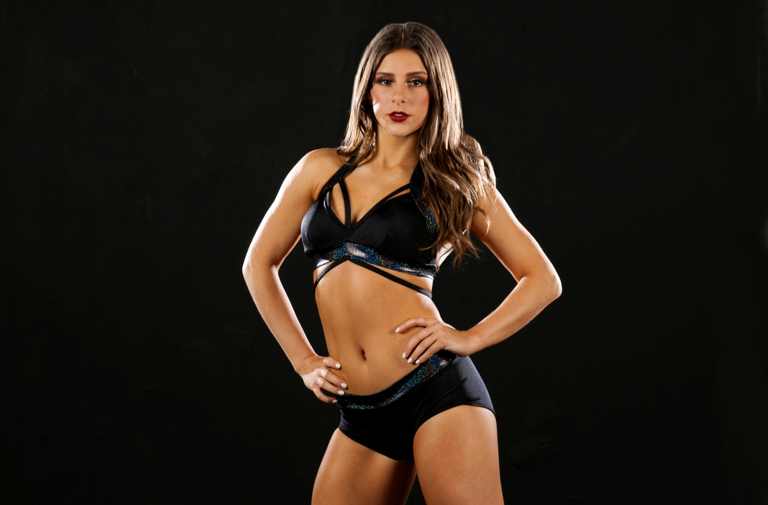 College and Pro Cheer Audition Wear - All Black tryout outfit