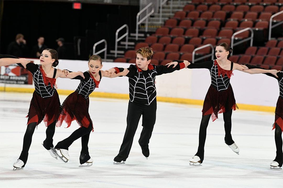 Cleveland Ice Storm Synchronized Skate Dresses