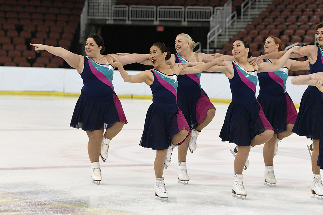 Cold Fusion Open Masters Synchronized Skating Team