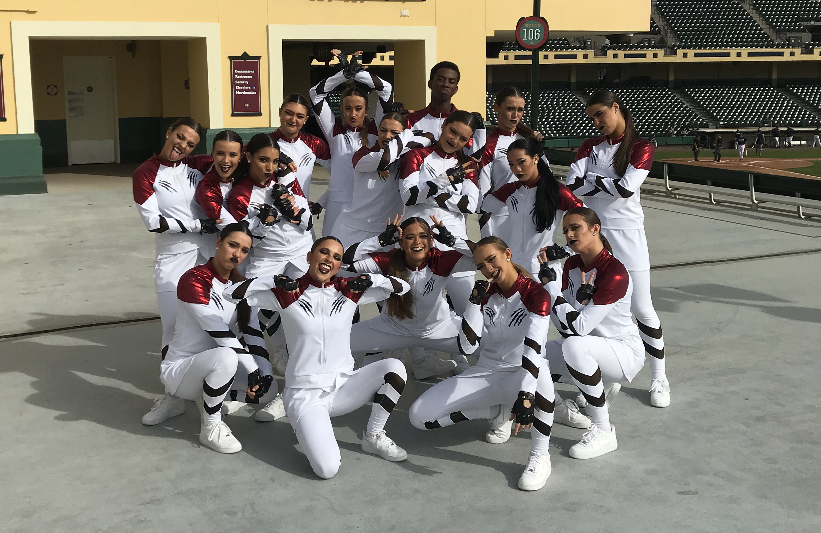 College of Charleston Dance Team Custom Hip Hop Costume