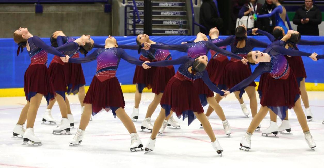 DC Edge Junior Synchronized Skating Teams Custom Skate Dresses