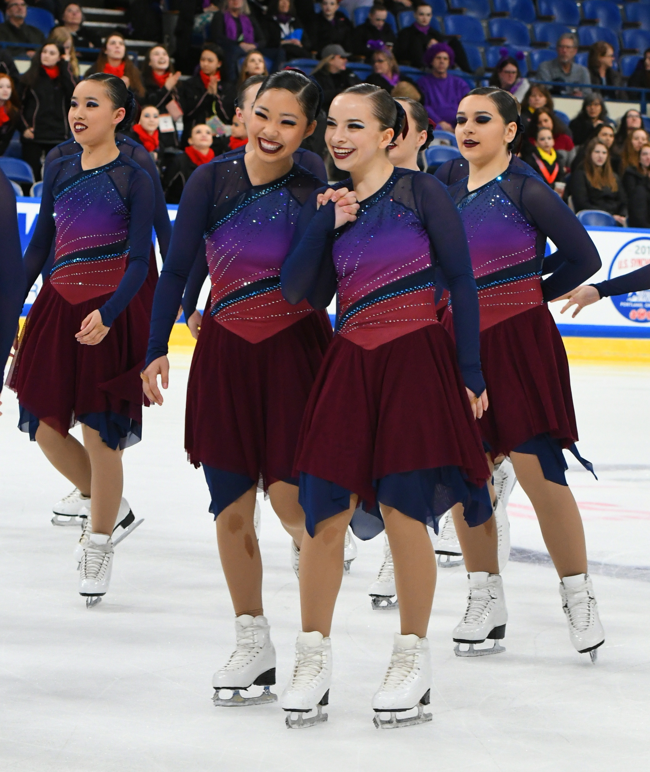 DC Edge Junior Synchronized Skating Teams Custom Skate Dresses