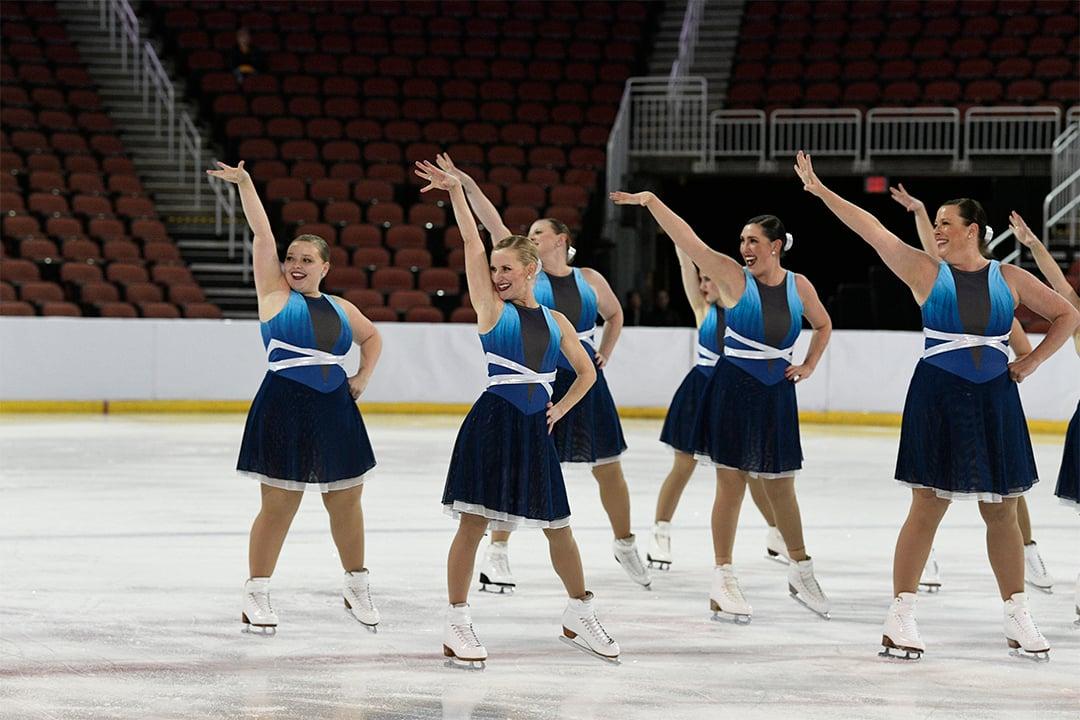 Custom Synchronized Skate Dresses Denver Synchronicity
