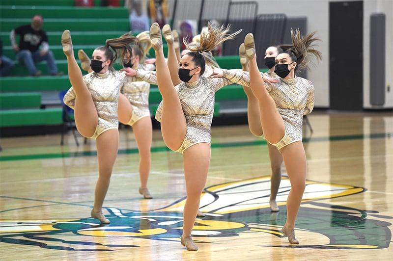 Dilworth-Glydon High School Dance Team